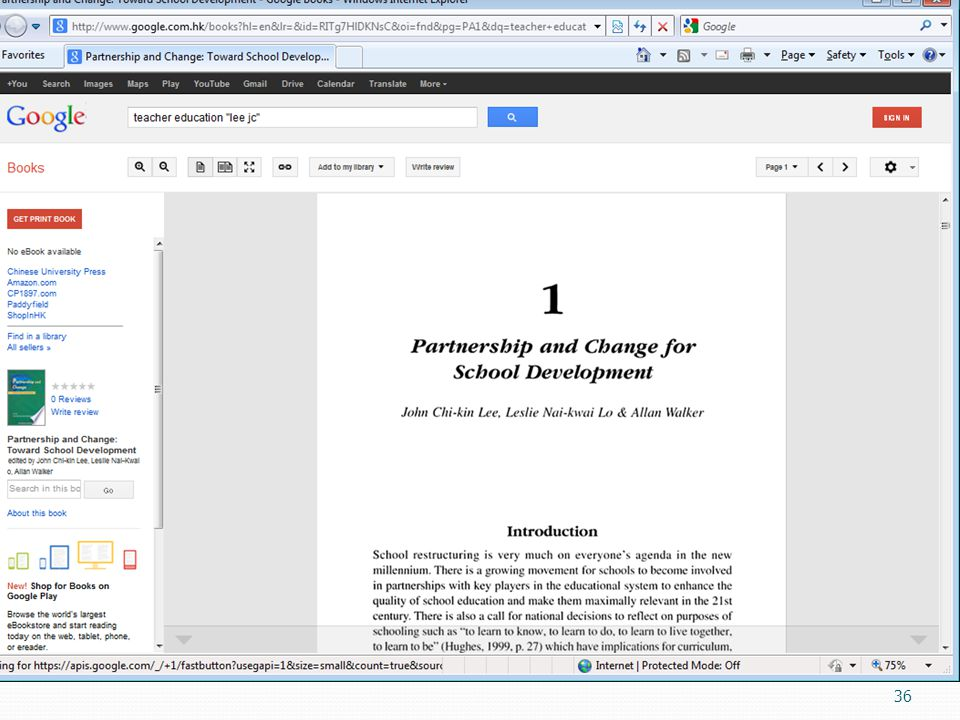 37 Google Books http://books.google.com/ Notwithstanding the legal issues related to Google Books, it is a great research tool in itself Google not only scans but OCR s the text; obtain full text from its partners  making it possible to easily search for a sentence in the book E.g.