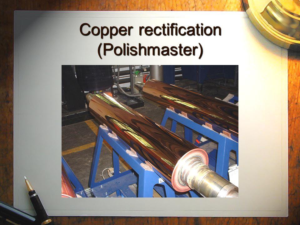 Common process: Copper baths Bolstar