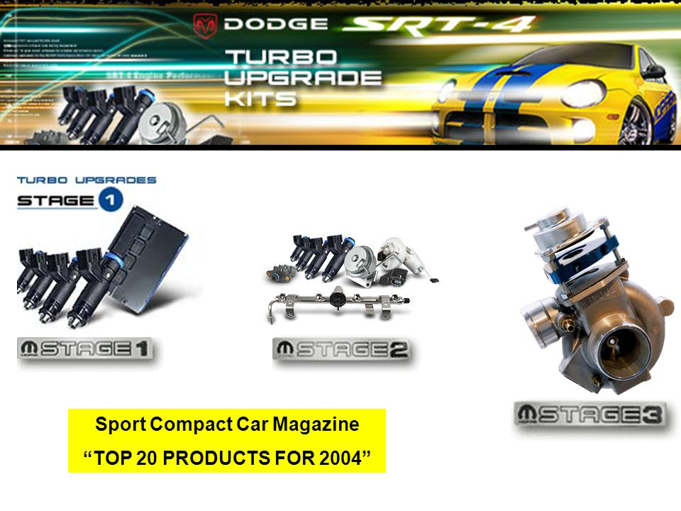 Sport Compact Car Magazine TOP 20 PRODUCTS FOR 2004