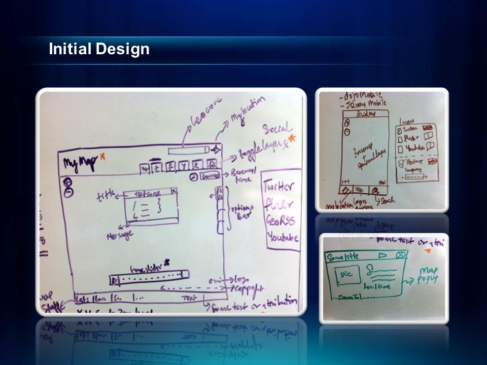 Initial Design