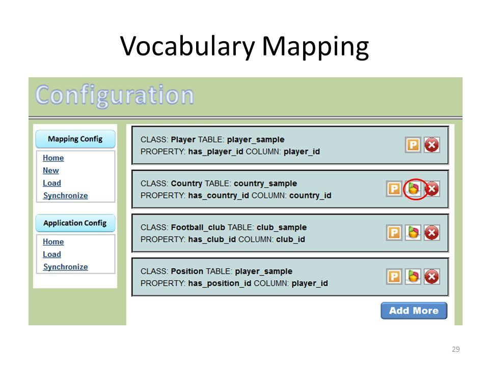 Vocabulary Mapping 29