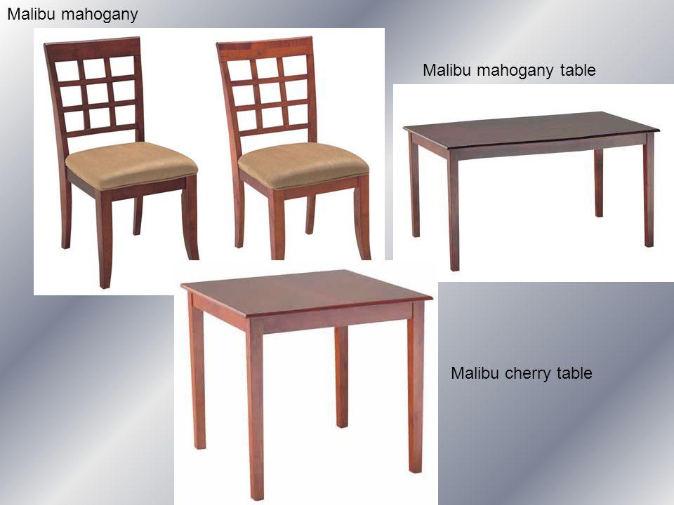 Malibu mahogany Malibu mahogany table Malibu cherry table