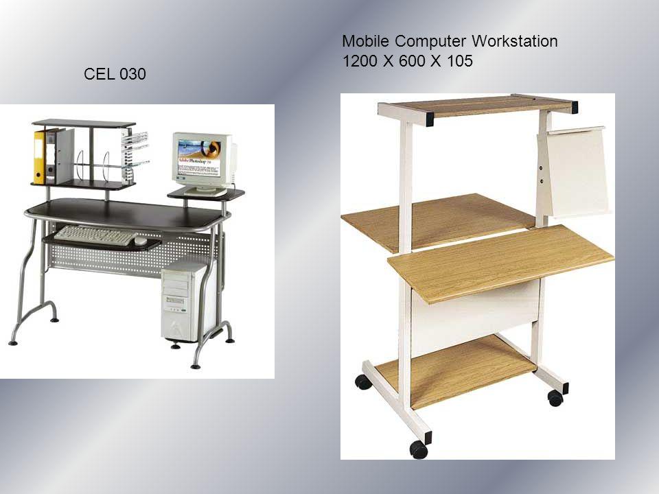 CEL 030 Mobile Computer Workstation 1200 X 600 X 105