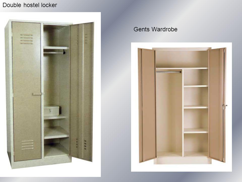 Double hostel locker Gents Wardrobe