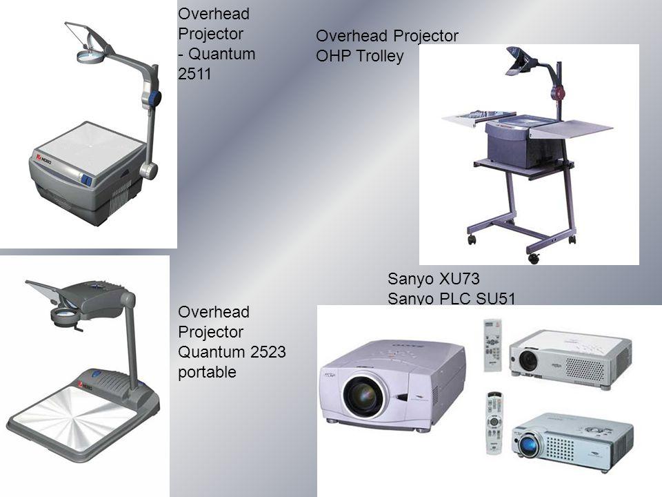 Overhead Projector - Quantum 2511 Overhead Projector OHP Trolley Overhead Projector Quantum 2523 portable Sanyo XU73 Sanyo PLC SU51
