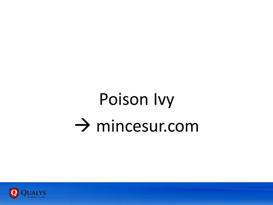 Poison Ivy  mincesur.com