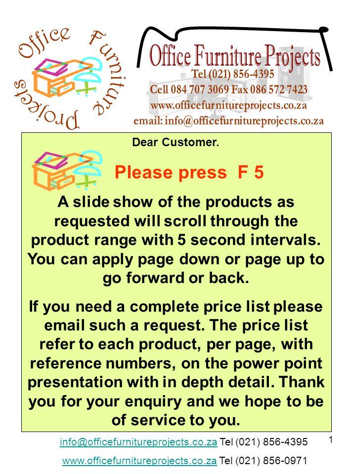 1 Dear Customer.
