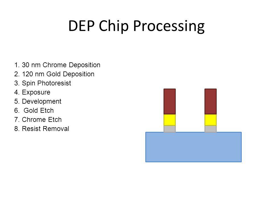 DEP Chip Images courtesy of Weina Wang
