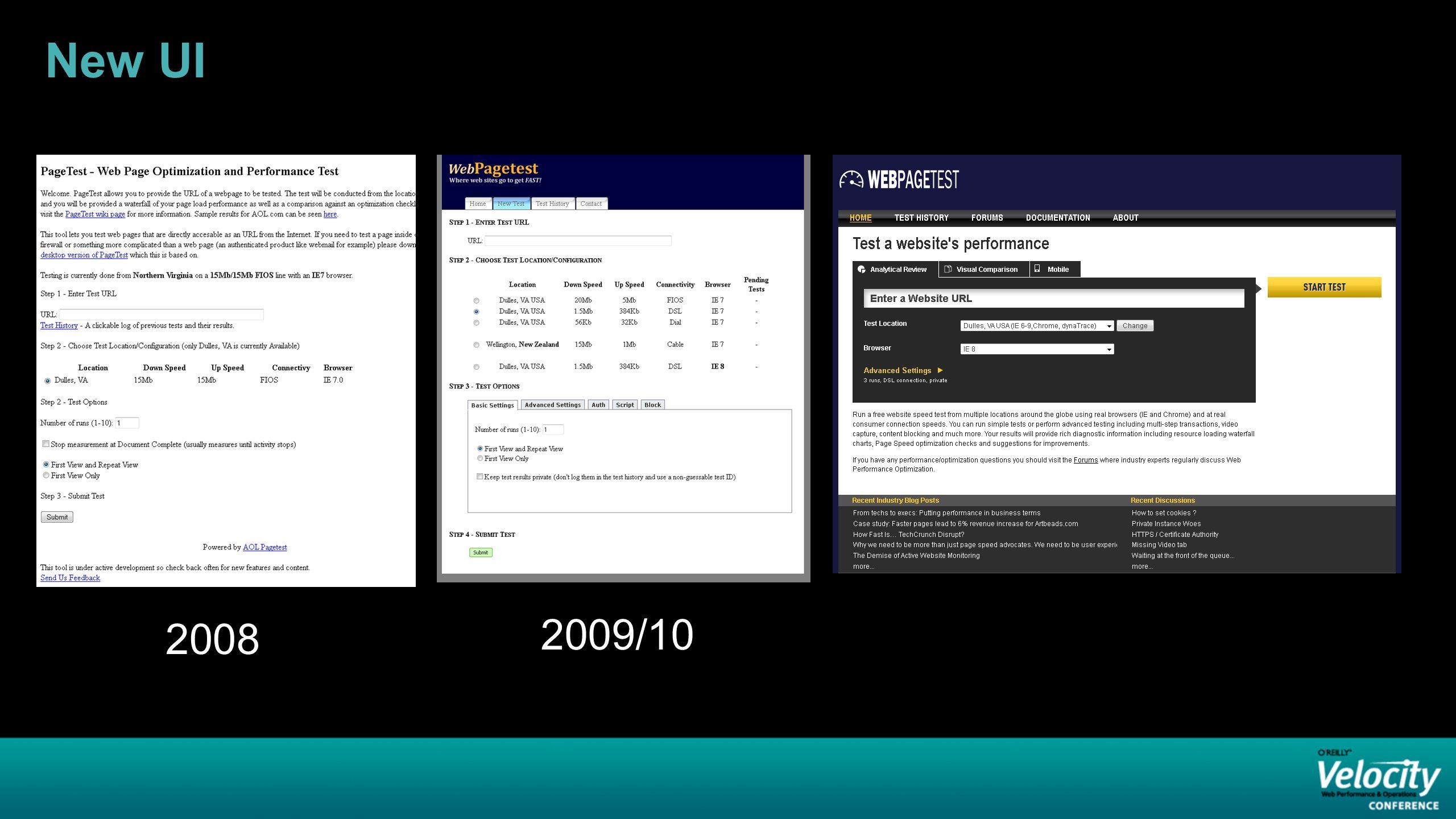 New UI 2008 2009/10