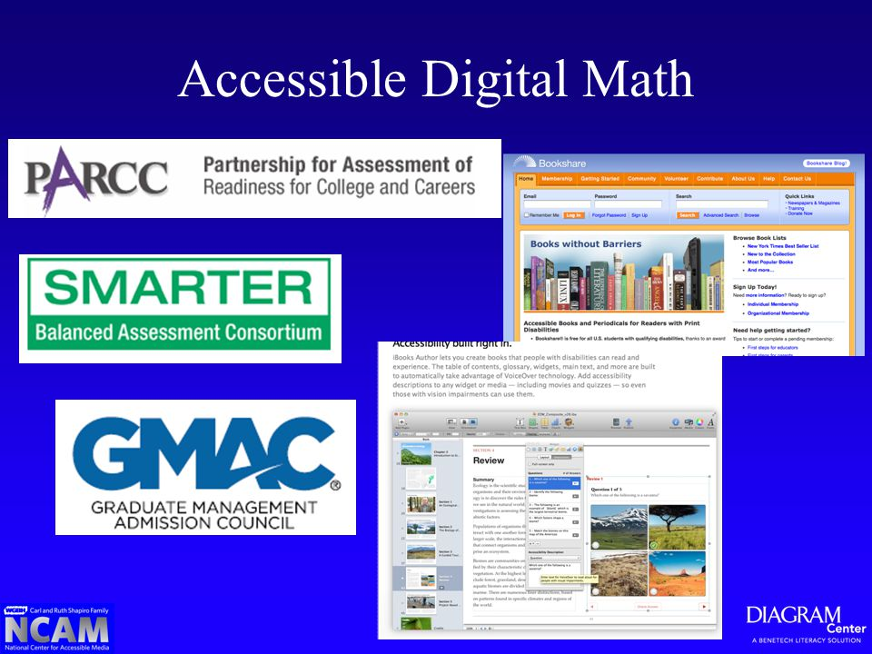 Accessible Digital Math