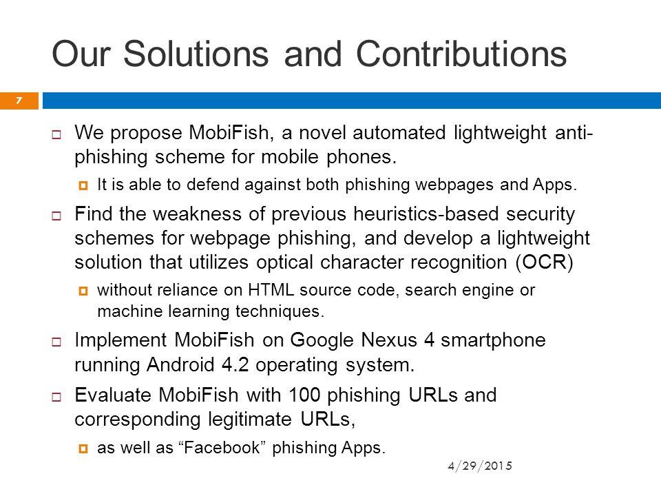 Design of AppFish Cont.