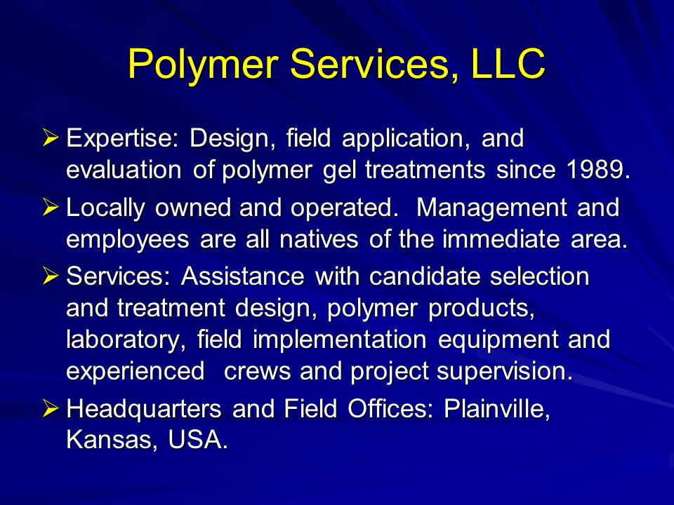 How have Polymer jobs today improved compared to what has been done in the past.