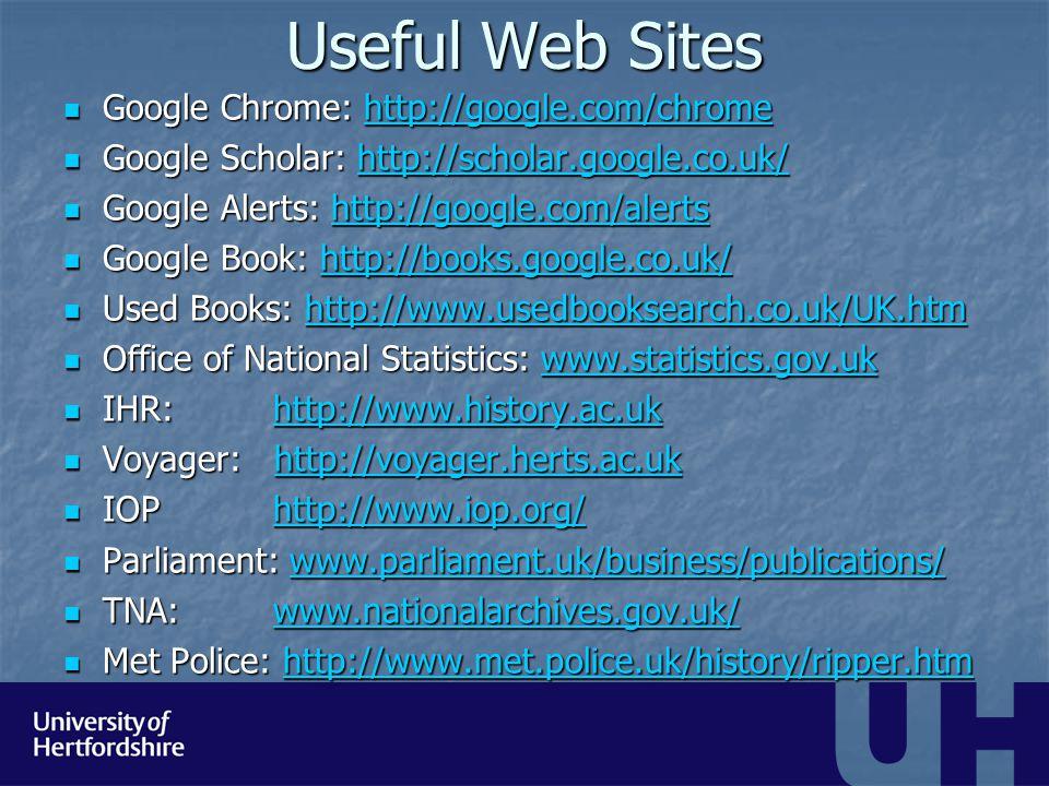 Other on-line materials Intute: www.intute.ac.uk Intute: www.intute.ac.ukwww.intute.ac.uk Parliament: http://www.historyofparliamentonline.org/ Parliament: http://www.historyofparliamentonline.org/http://www.historyofparliamentonline.org/ Old Bailey: http://www.oldbaileyonline.org/ Old Bailey: http://www.oldbaileyonline.org/http://www.oldbaileyonline.org/ I- Tunes U: http://itunes.apple.com/us/app/itunes- u/id490217893?ls=1&mt=8 I- Tunes U: http://itunes.apple.com/us/app/itunes- u/id490217893?ls=1&mt=8http://itunes.apple.com/us/app/itunes- u/id490217893?ls=1&mt=8http://itunes.apple.com/us/app/itunes- u/id490217893?ls=1&mt=8 Twitter – follow reputable organisations, societies or academics Twitter – follow reputable organisations, societies or academics Podcasts - www.podomatic.com Podcasts - www.podomatic.comwww.podomatic.com You tube: http://www.youtube.com/watch?v=pyX8kQ- JzHI You tube: http://www.youtube.com/watch?v=pyX8kQ- JzHIhttp://www.youtube.com/watch?v=pyX8kQ- JzHIhttp://www.youtube.com/watch?v=pyX8kQ- JzHI On-line lectures: On-line lectures: http://www.thehistoryfaculty.org/ http://www.thehistoryfaculty.org/ http://www.thehistoryfaculty.org/ http://www.sciencelive.net/ http://www.sciencelive.net/ http://www.sciencelive.net/
