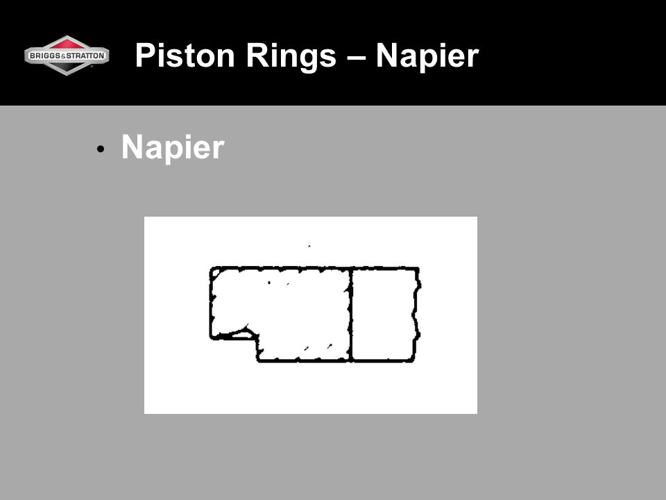 Piston Rings – Napier Napier