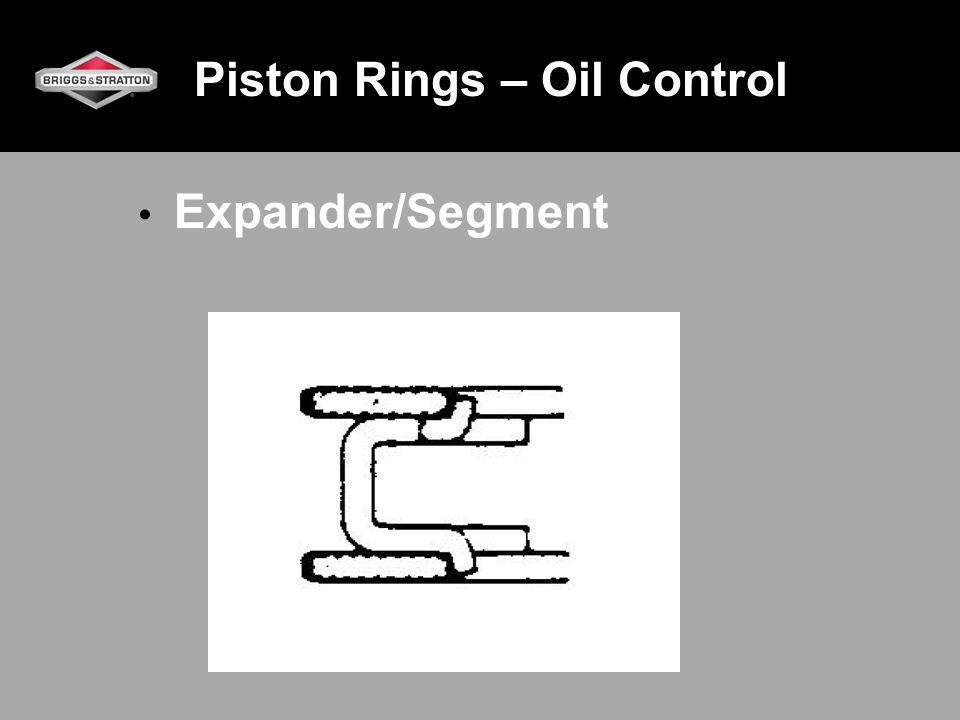 Piston Rings – Oil Control Expander/Segment