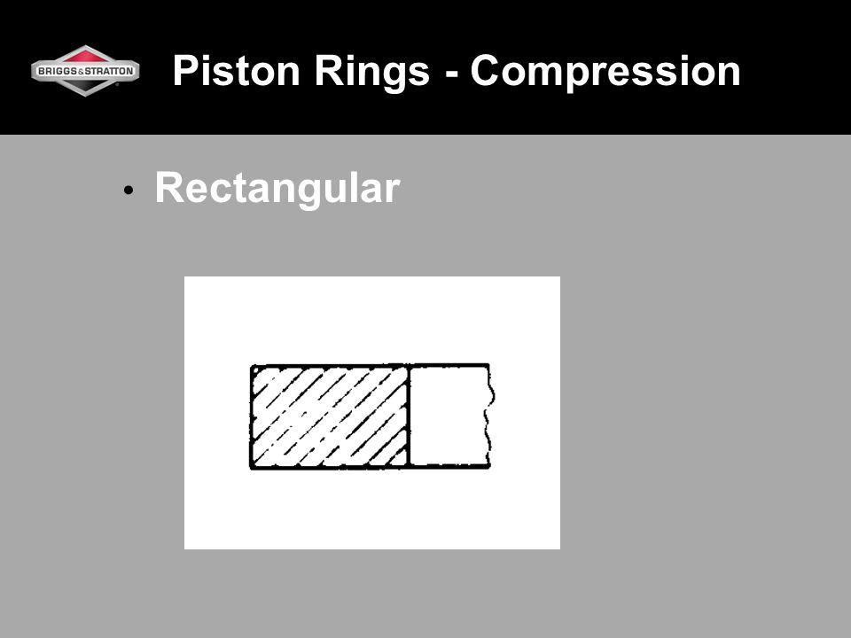 Piston Rings - Compression Rectangular
