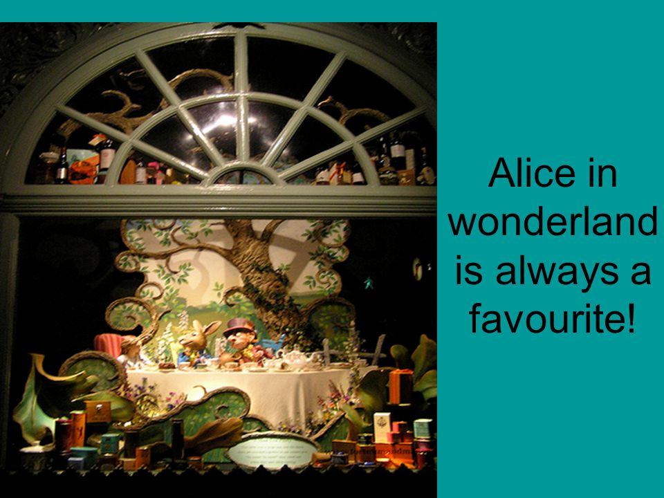 Alice in wonderland is always a favourite!