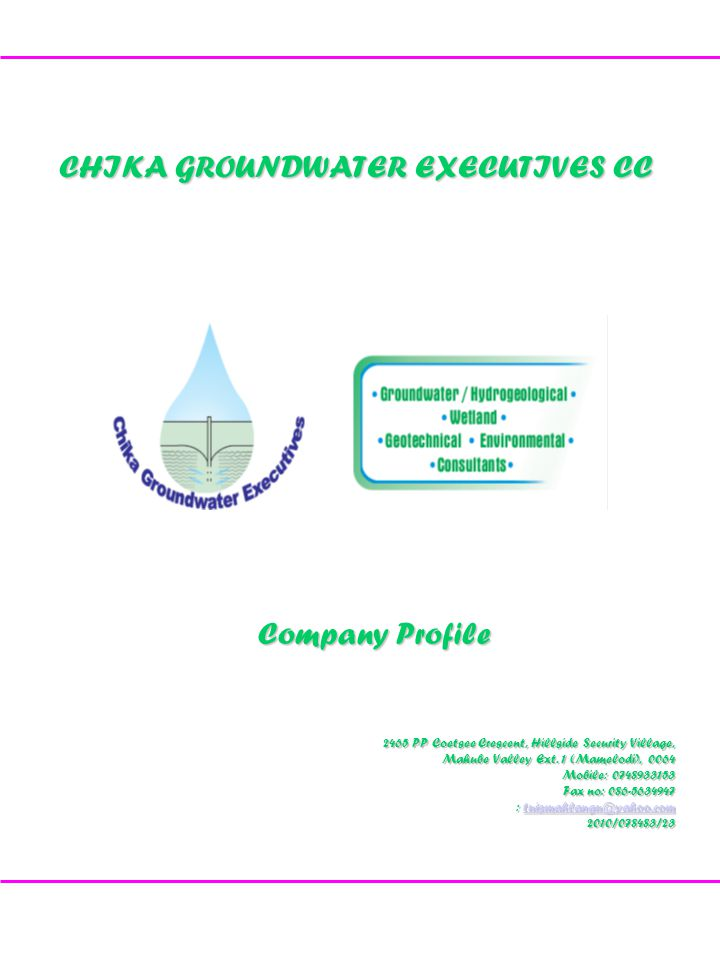 Chika Groundwater Executives 1.