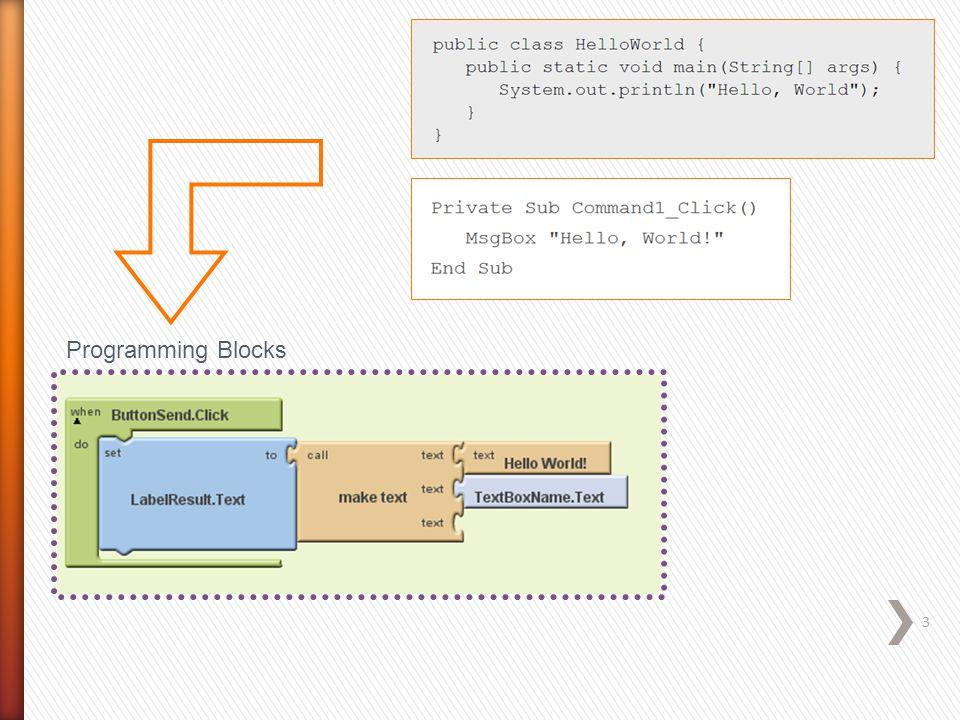 Programming Blocks 3