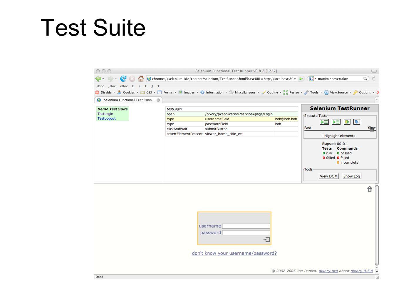 Test Suite