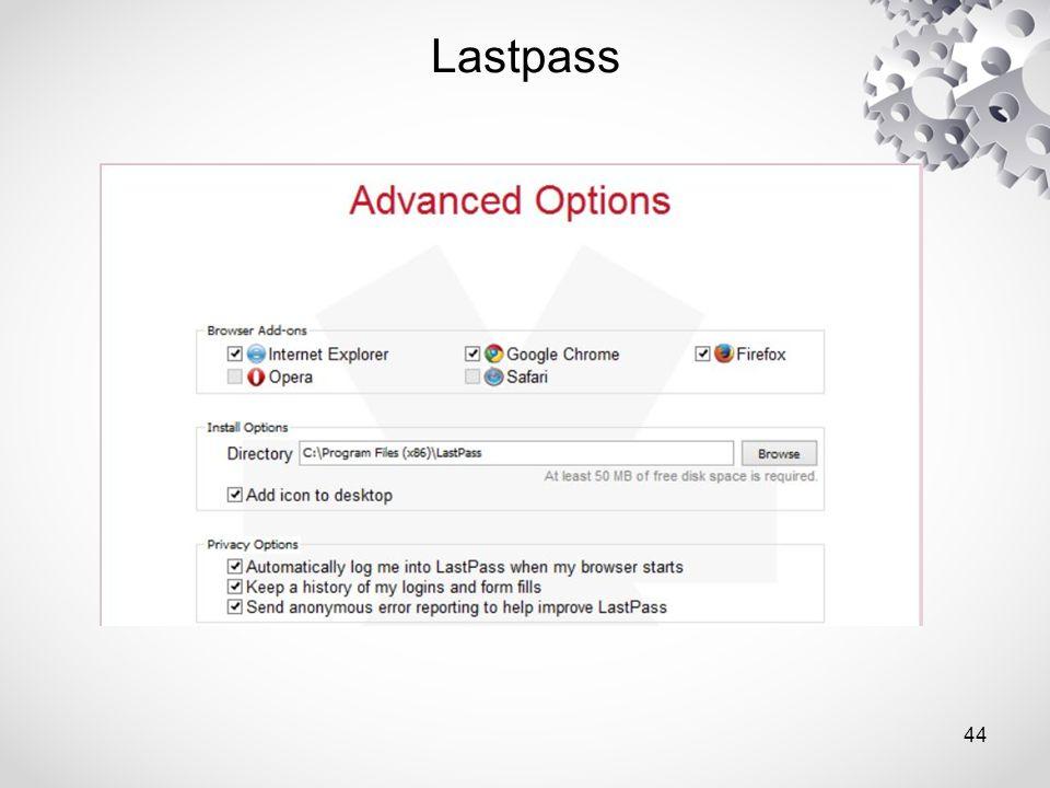Lastpass 44