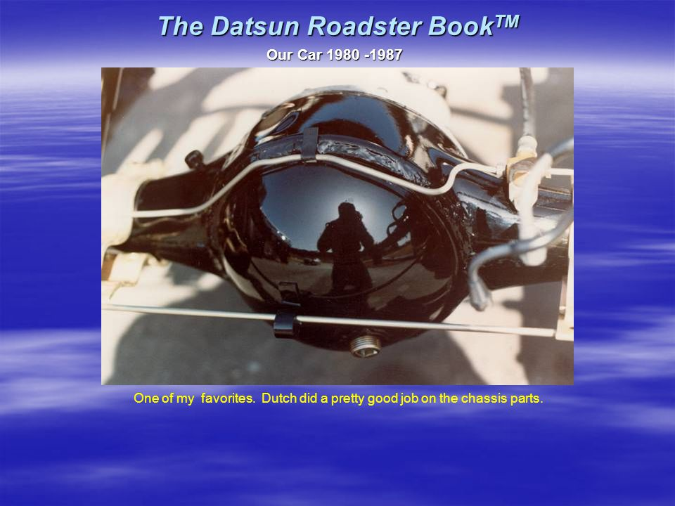 The Datsun Roadster Book TM Our Car 1980 -1987 One of my favorites.