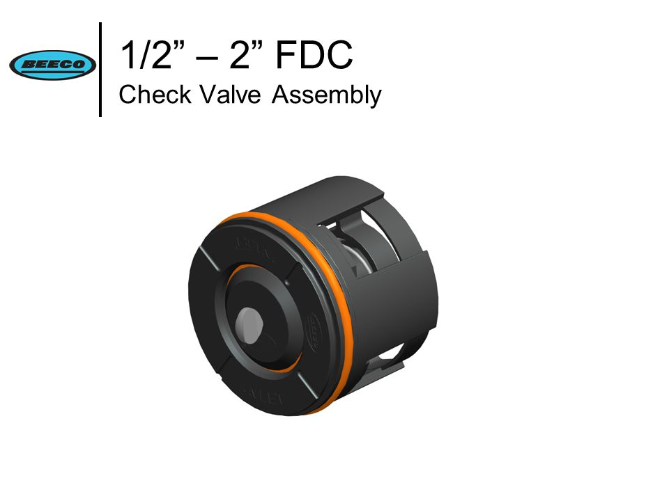 1/2 – 2 FDC Check Valve Assembly