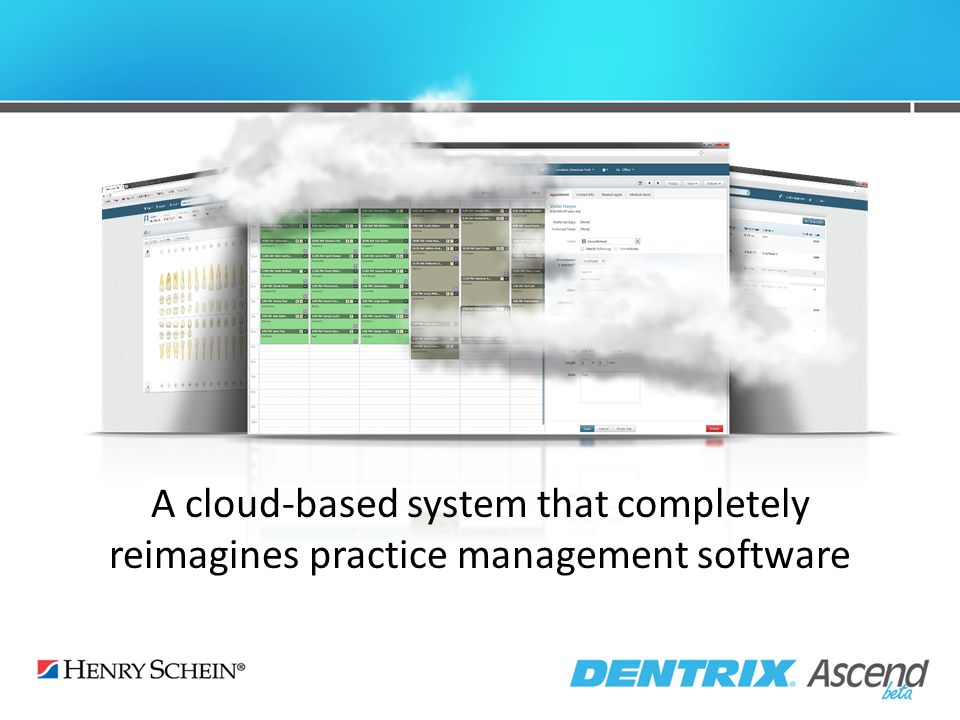 A cloud-based system that completely reimagines practice management software