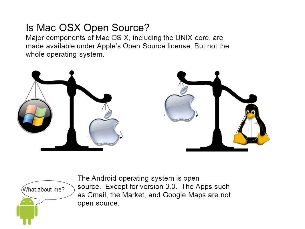Is Mac OSX Open Source.