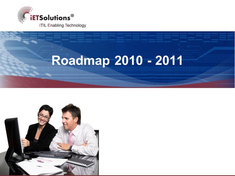 Roadmap 2010 - 2011
