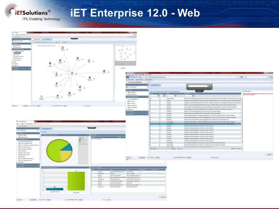 iET Enterprise 12.0 - Web