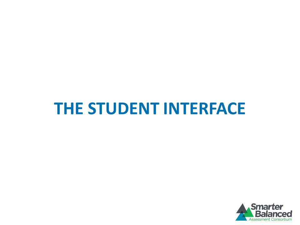 THE STUDENT INTERFACE