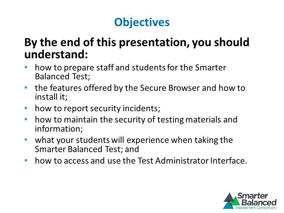 Create a Test Session