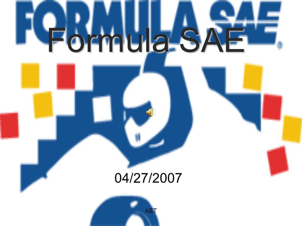 AET Formula SAE 04/27/2007
