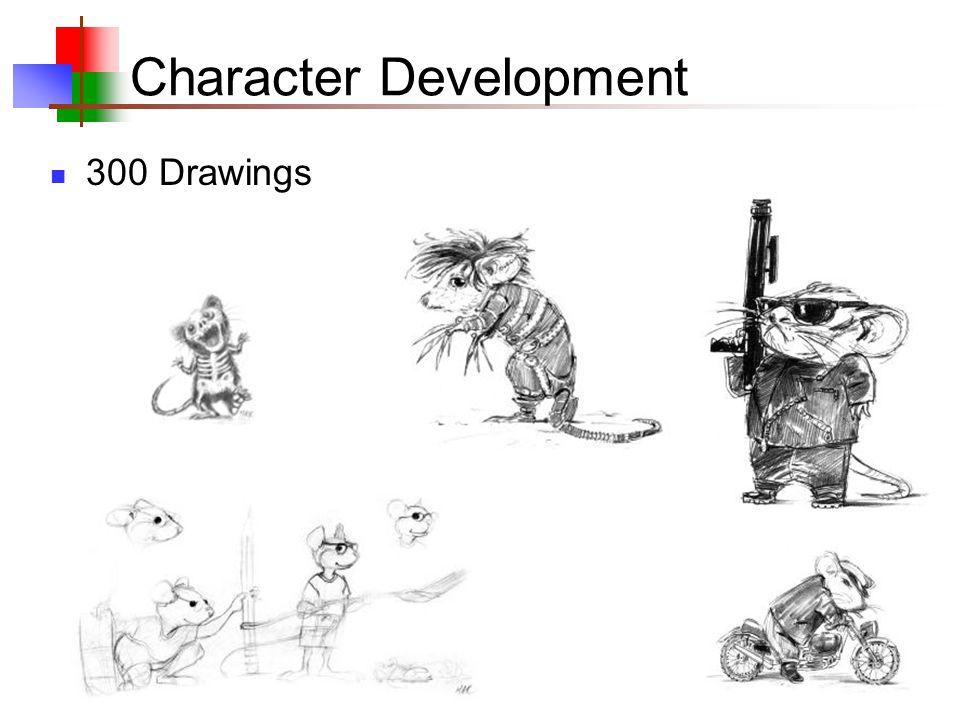 7 Character Development 40 Sculptures