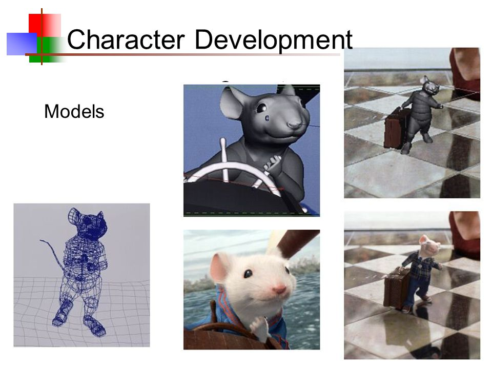 8 Computer Models Character Development