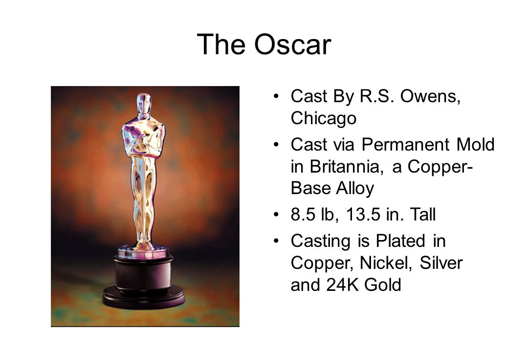 The Oscar Cast By R.S.