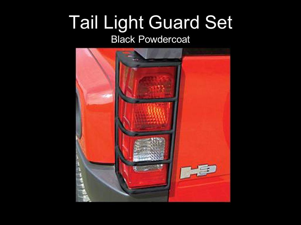 Tail Light Guard Set Black Powdercoat