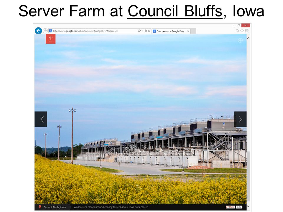 16 Server Farm at Council Bluffs, IowaCouncil Bluffs