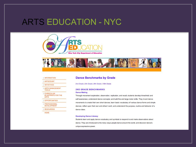 ARTS EDUCATION - NYC