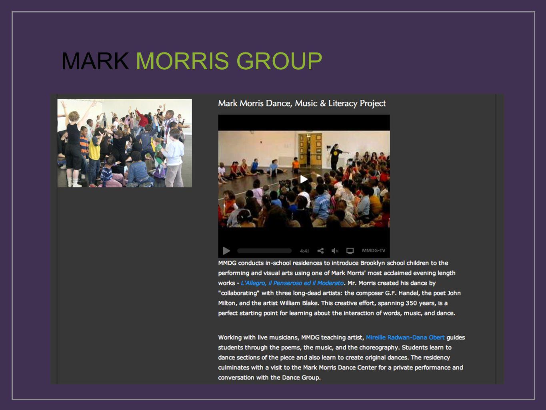 MARK MORRIS GROUP