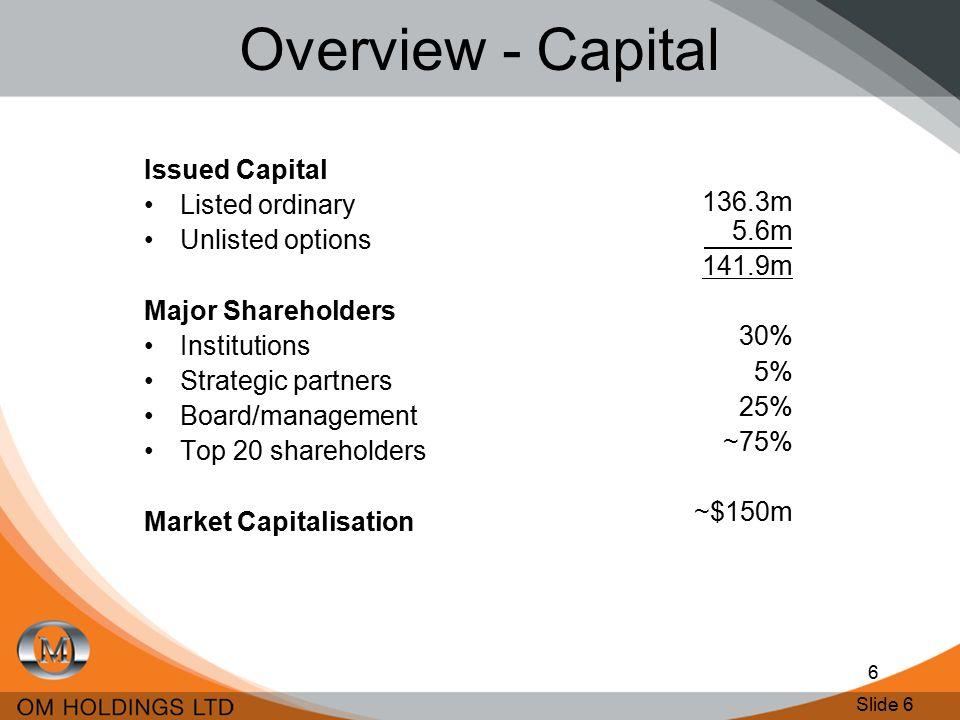 Slide 7 7 Overview - Financial Returns Dec HalfJune Half Continuous dividends since 1998