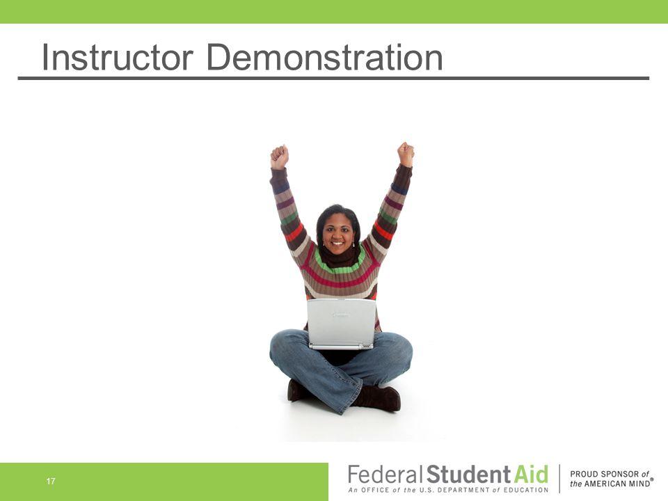 Instructor Demonstration 17