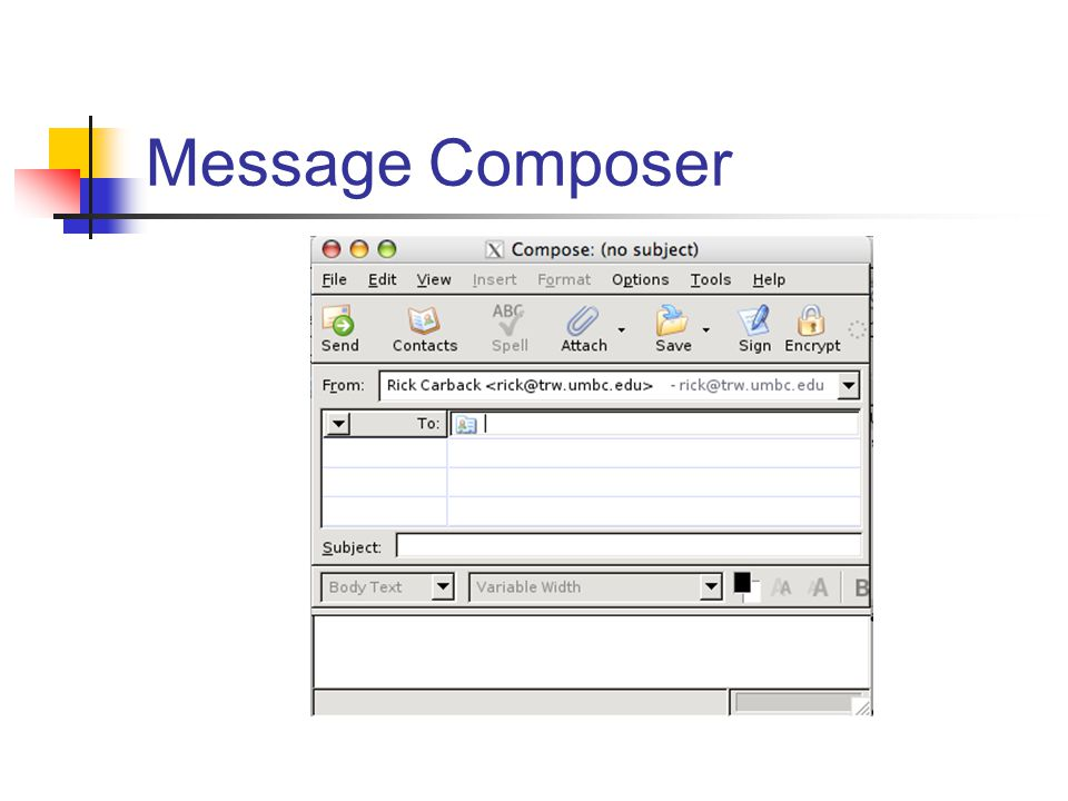 Message Composer