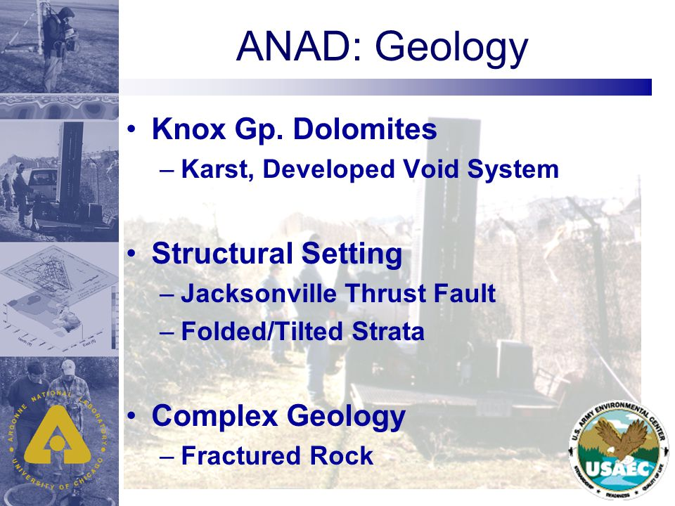 ANAD: Geology Knox Gp.