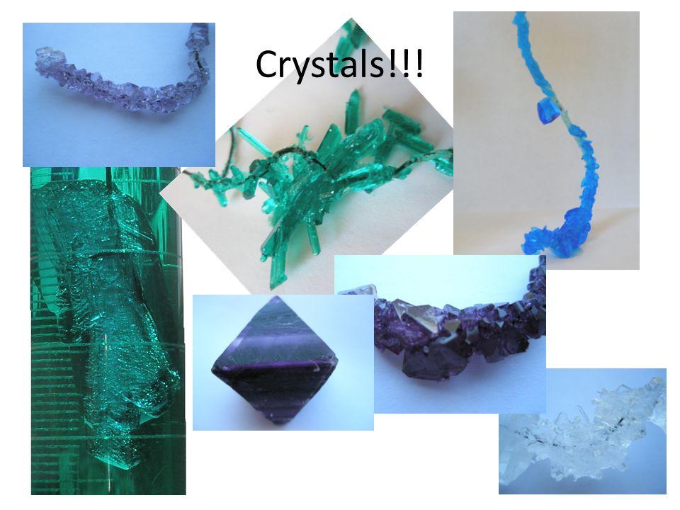 Crystals!!!