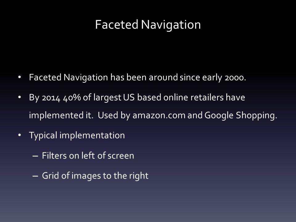 Faceted Navigation