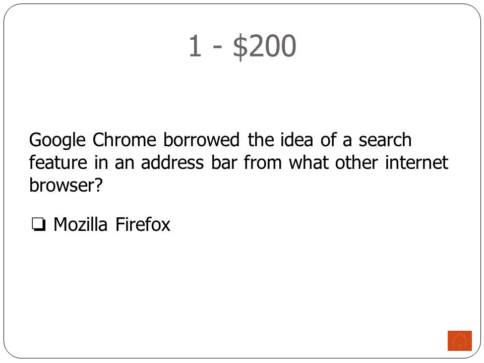 1 - $300 These additions to your address bar add several features and ease of access to your internet browsing.