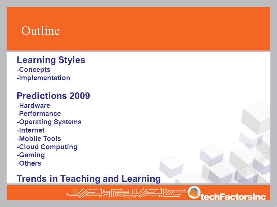 Technology Trends 2009 What's out there this year