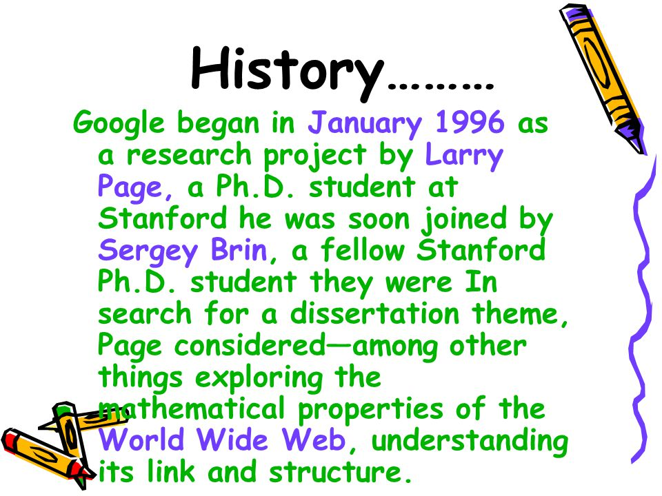 Conclusions  Google is designed to be a scalable search engine .